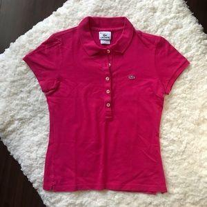 Lacoste Slim Fit Pique Polo Shirt, Size 38